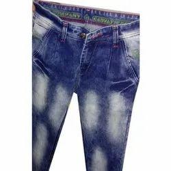 Denim Faded Men Designer Jeans