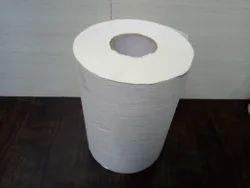 White HRT Tissue Paper Jumbo Roll