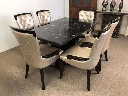 Perfect Interior Decorator Marble Top Dining Table Rs 65000 Set Id 21197553997