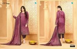 Mix Evergreen Latest Printed Your Choice Crepe Suit
