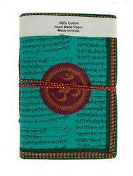 Om Printed Handmade Paper Journal
