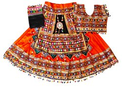 Kutch Embroidered Original Mirror Work Chaniya Choli