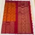 Ethnic Linen Silk Saree