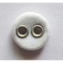 White Fabric Button, Packaging Type: Packet