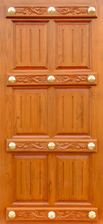 Wooden Exterior And Interior Solid Wood Door