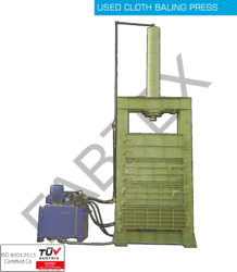 Waste Cotton Baling Press