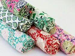 Block Printed Handmade Fabric