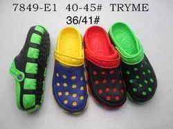 Casual Clog PVC Footwear