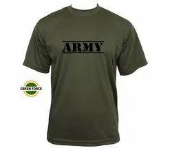 Olive Green Army Tshirt