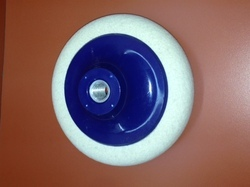 Felt Wheel with Blue Plastic Cup