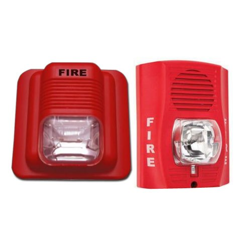 ABS Fire Hooter With Strobe, for Offices