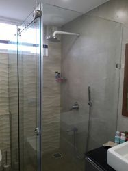 L Type Sliding Shower