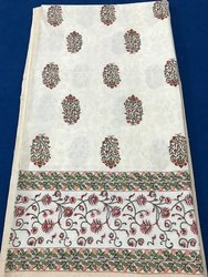 Block Mughal Print Bed Spreads