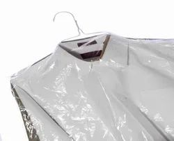Hanger Cut Poly Bag
