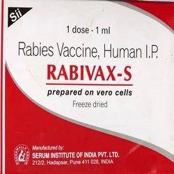 Rabivax-S Vaccine ( Rabies Vaccine )