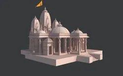 Religious Temple Construction Service