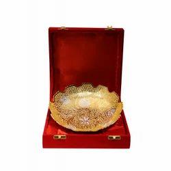 Brass Fruit Bowl