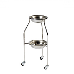 Two Tier Double Bowl Stand