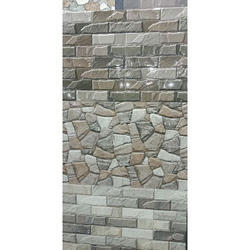 Concrete Ceramic Elevation Tiles, 10-15 Mm