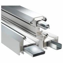 White UPVC Steel Reinforcement Profile