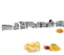 French Fries and Potato Chips Making Machine