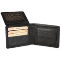 LWFM00196 Black Men Leather Wallet