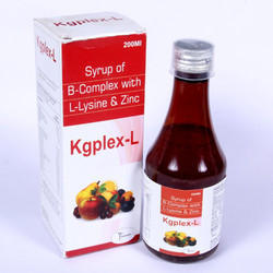 B-Complex With L-Lysine & Zinc Syrup