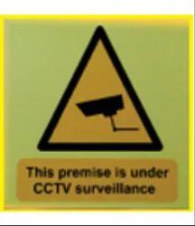 CCTV Under Surveillance Sign