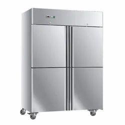 Bioxx 3 Star Four Door Vertical Commercial Refrigerator, Capacity: 800-900 L