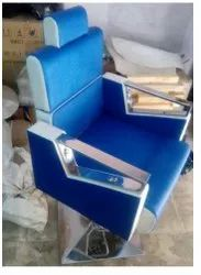 Blue Beauty Leather Chair