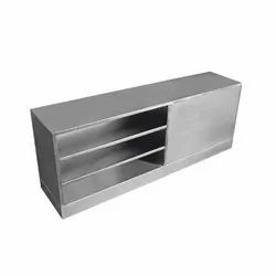 Rectangular Stainless Steel Cross Over Benches