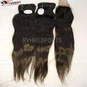 Remy Machine Weft Straight Hair
