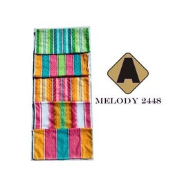 Cotton Aakash Towel Melody Towels, Size: 24x48 inch
