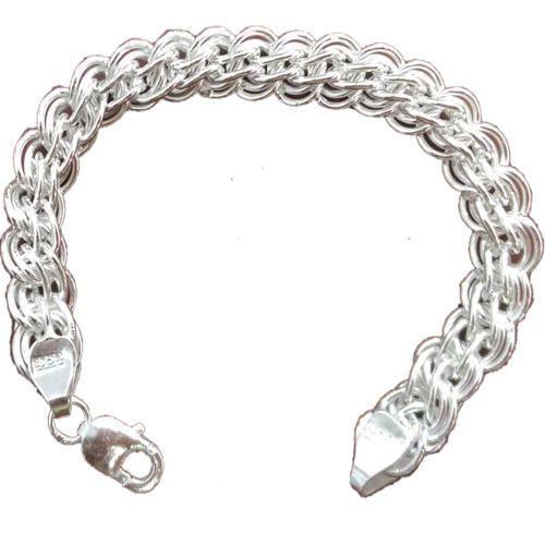 de30ea11e61b7 SEVAK 70 Mens Sterling Silver Chain Bracelet | ID: 14541186330