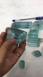 Natural Aquamarine Gem Quality Rough