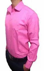 Cotton Mix Men Awasheswar Man's Plain Formal Regular Fit Shirt, Handwash, 18 And Above