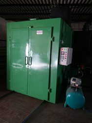DIESEL FIRED POWDER COATING PLANT