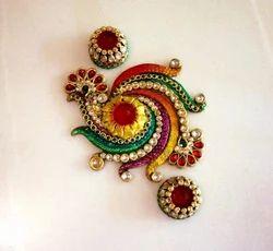 Kundan Spiral Rangolies