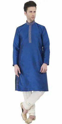 18a6932668e Indian Kurta Pajama Handmade Long Sleeve Button Down Men Shirt Traditional  Wedding Party Wear Dress