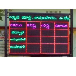 Rate LED Display Board