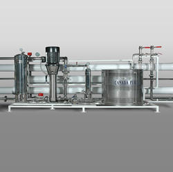 Stainless Steel Water Treatment Plants