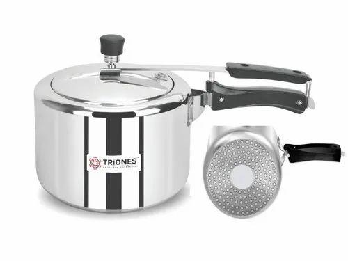 Triones Aluminum Innerlid Pressure Cooker 3 Ltr IB