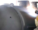 Thermal Spray Aluminum Coating on Vessels