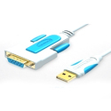 USB 2.0 To Db9 Female Cable 1 Meter
