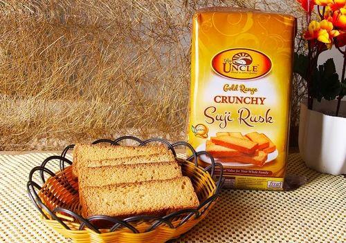 Gold Range Suji Rusk, Packaging Type: Packet