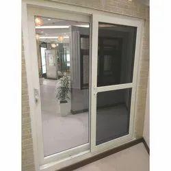 Absolute White UPVC Sliding Door, For Home