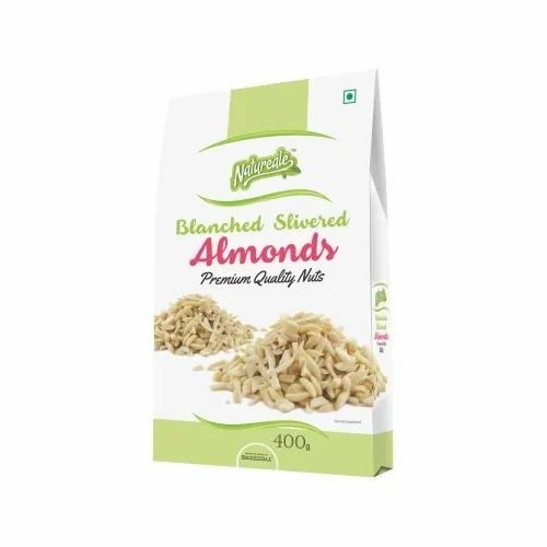 Natureale Almonds, Packaging Size: 400grm