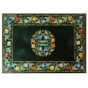 Marble Inlay Table Top Stone Pietra Dura Art Work