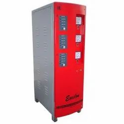 Single and Three Phase Better Than 98% Automatic Servo Stabilizers, With Surge Protection, 415 V (adjustable)