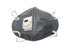 3M 9004GV Grey Particulate Respirator Mask